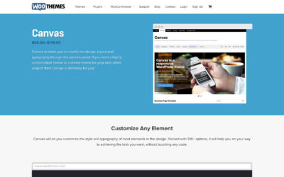 Why I love working with WooThemes Canvas