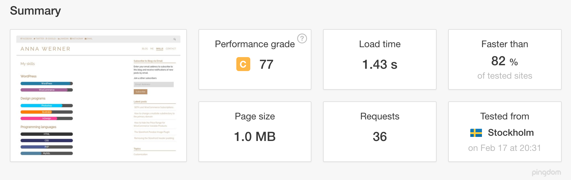 WordPress Speed Optmization